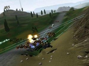 Ambush scenario involvind traders, hunters and a load of lazorz