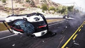 hot pursuit car crash