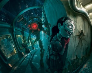 Bioshock 2 concept art