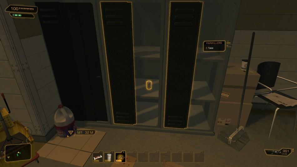 Deus Ex in-game HUD