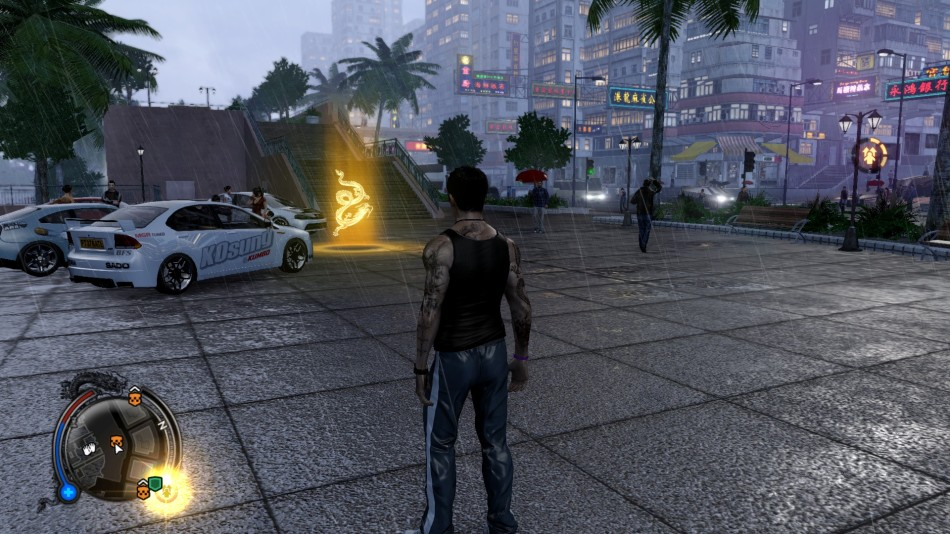 Sleeping Dogs: HAVE SOME RAIN