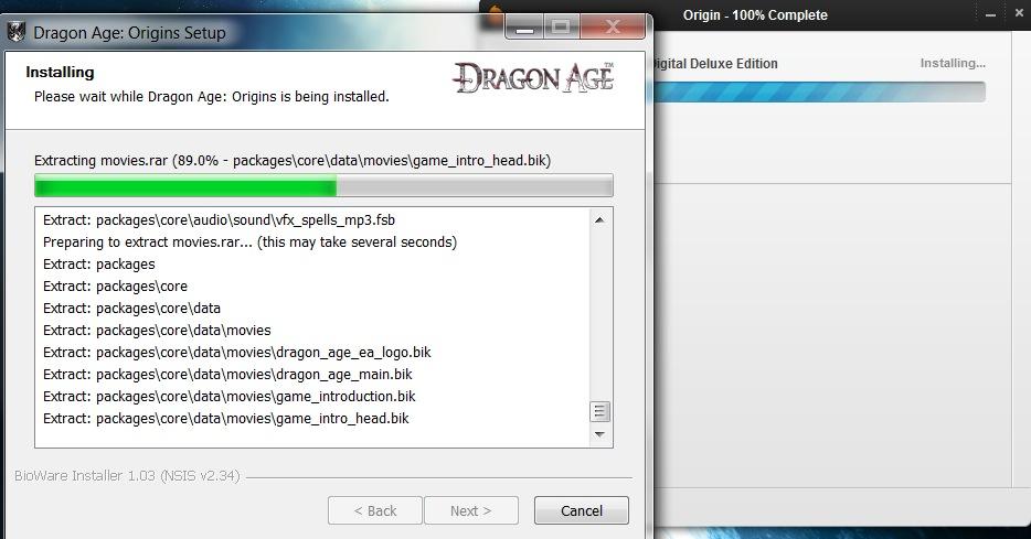 Dragon Age: Origins Installer