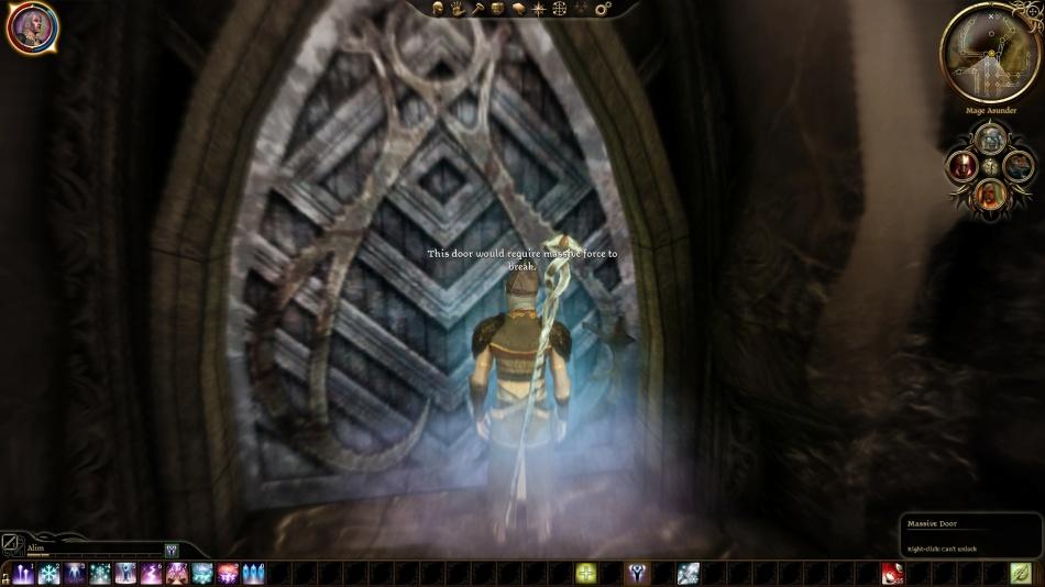 DA:O Fade massive door