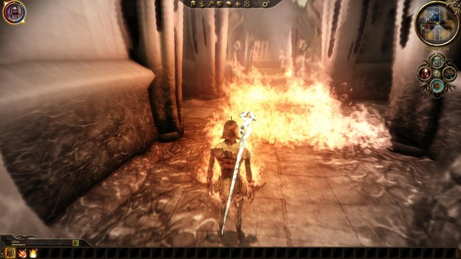 DA:O Fade Flaming Man Form