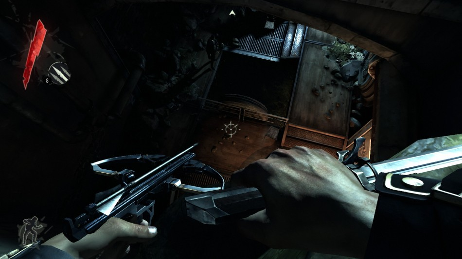 Dishonored: Lurking from above