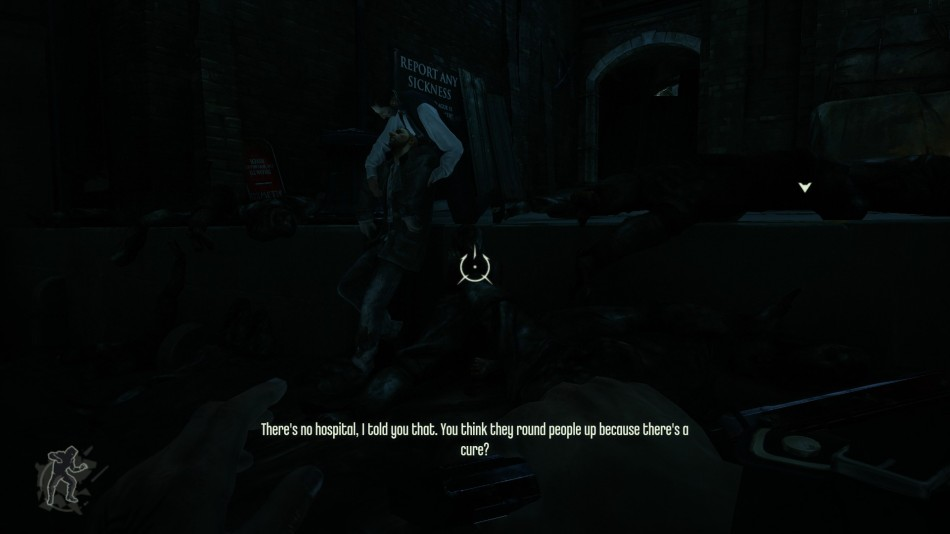 Dishonored: Two doomed plague victims